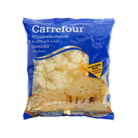 Carrefour Mozzarella Cheese Shredded 200g