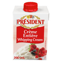 President Whipping Cream 200 ml