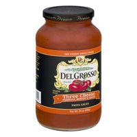 Delgrosso Three Cheese Sauce 680 g
