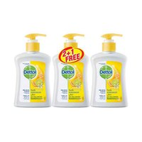 Dettol Liquid Hand Soap Fresh 200ML 2 + 1 Free