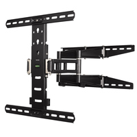Hama Ultraslim Fullmotion Tv Wall Bracket 5 Stars 142 Cm (56) Black