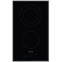 Smeg Built-In Ceramic Hob SE332EB 30CM
