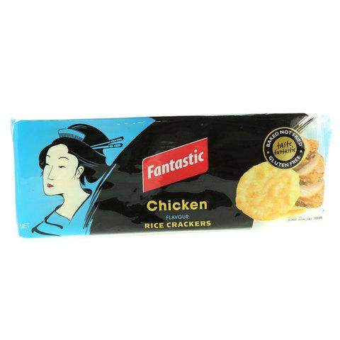 Fantastic-Chicken-flavor-Rice-Crackers-100g