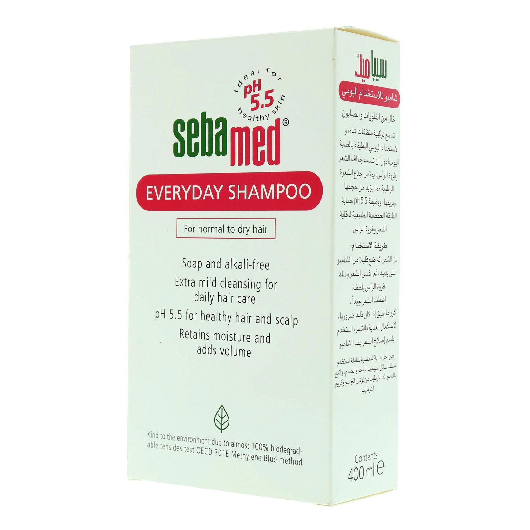SEBAMED SHAMPOO EVERYDAY 400ML