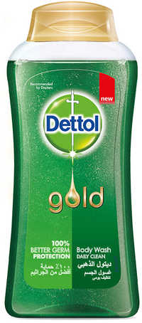 Dettol Gold Anti Bacterial Daily Clean Shower Gel 250ml