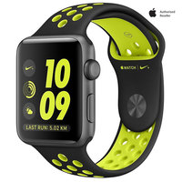 Apple Watch Nike + 42mm Space Gray Aluminium Case With Black Volt Nike Sport Band