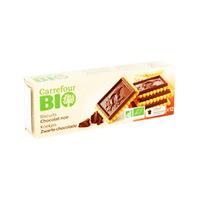 Carrefour Biscuits  Bio Dark Chocolate 150GR