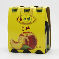 Rauch Peach Juice 250 ml x 6 Pieces