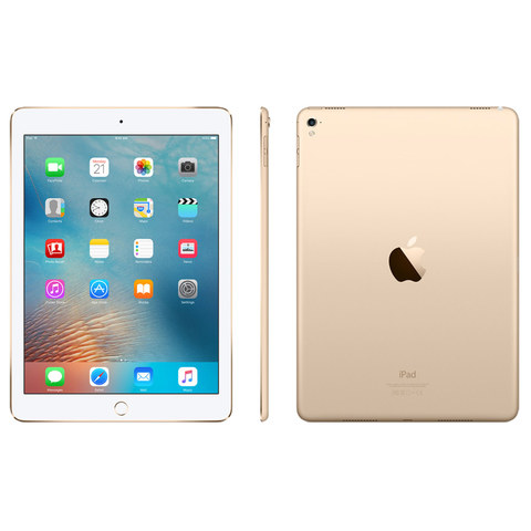 "Apple-iPad-Pro-Wi-Fi+Cellular-256GB-9.7""-Gold"