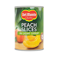 Del Monte Peach Slices In Light Syrup 420GR