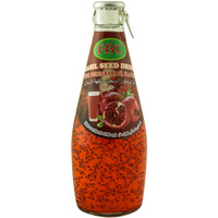 Fbc Basil Seed Drink With Pomegranate Flavour 290ml