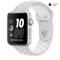 Apple Watch Series 2 Nike+ 38mm Silver Aluminium Case With Platinum White Sport Band