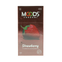 Moods Strawberry 12 Condoms