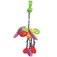 Playgro Zany Zoo Wonky Wigglers Dog Stuffed Animal Toy