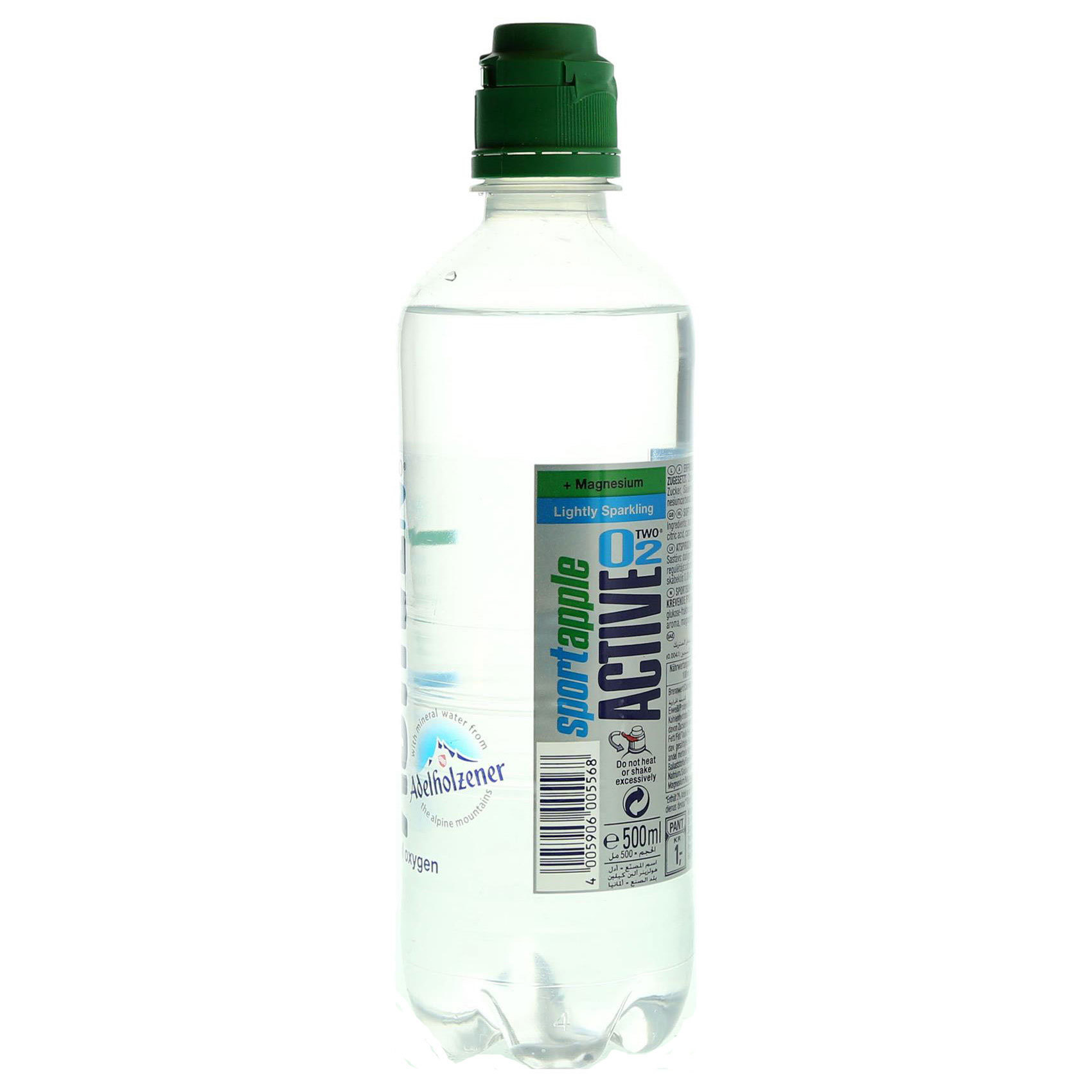 ACTIVE O2 OXYGEN WATER APPLE 500ML