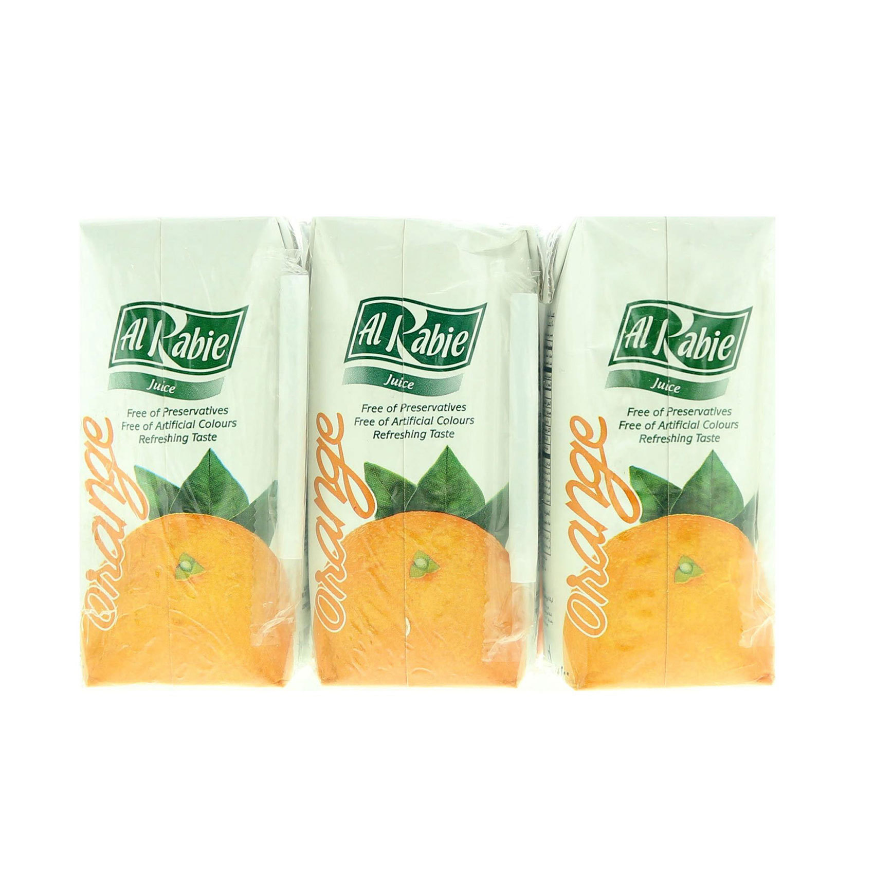 AL RABIE ORANGE JUICE 200ML X 9