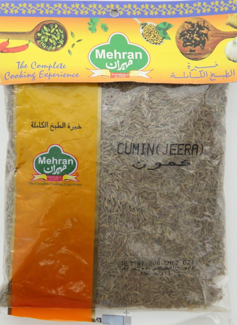 MEHRAN CUMIN SEED WHOLE 200G