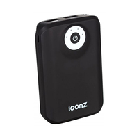 Iconz Power Bank 9000MA Black Grey