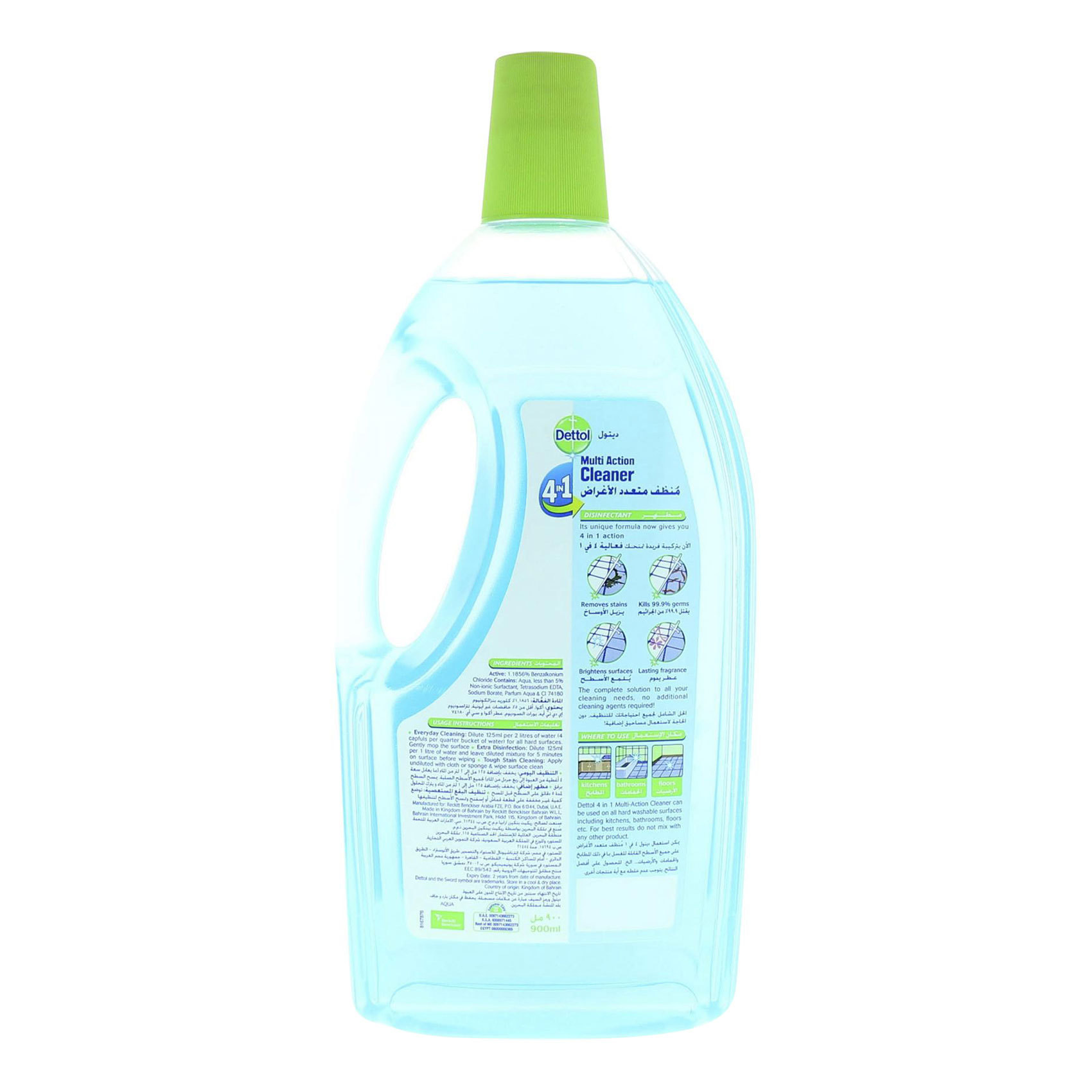 DETTOL MAC 4IN1 AQUA 900ML