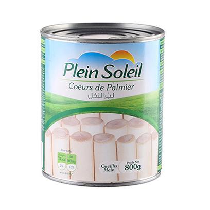 PLEIN SOLEIL HEARTS OF PALM 800G