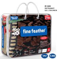 Fine Feather Korean Blanket Double 1Ply 3.7Kg