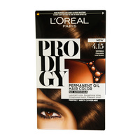 L'Oreal Paris Prodigy Permanent Hair Oil Hair Color 4.15 Chocolate Iced Brown 60ml