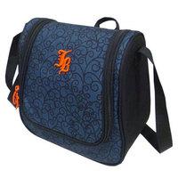 Janboots Black Pattern Lunch Bag