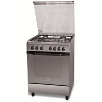 Indesit 60X60 Cm Gas Cooker I6TMH2AFXI 4Burners