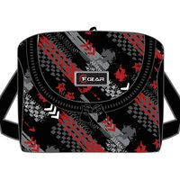 F Gear Lunch Bag Black & Red