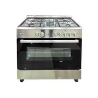 xper Gas Cooker K.96.50GGXOS 60x90 Max Safety Stainless Steel