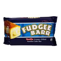 Fudgee Barr Vanilla Cream Filled Vanilla Cake Bar 40g x10