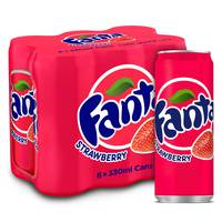Fanta Strawberry 6 x330ml
