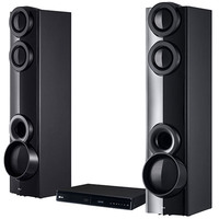 LG DVD Home Theater System LHD677 4.2 Channel With Tall Boy Speaker