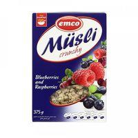 Emco Muesli Crunchy Blueberries & Raspberries 375g