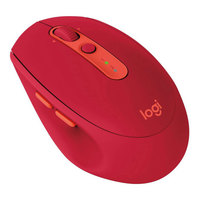 Logitech Mouse Wireless M590 Multi-Device Silent Midnight Ruby