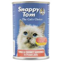 Snappy Tom Tuna & Chunky Sardines in Prawn Jelly 400g