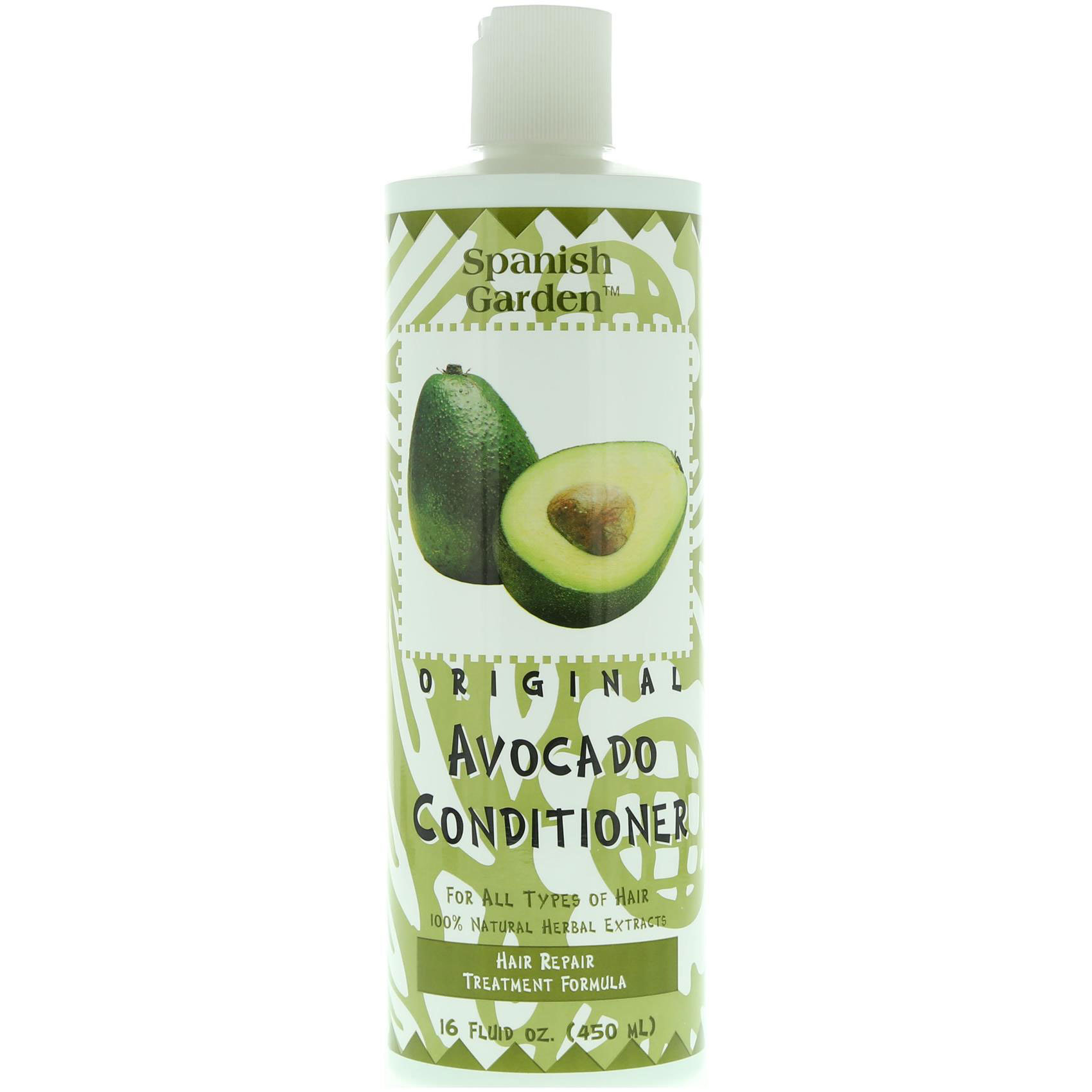SPANISH GARDEN AVOCADO COND. 450ML