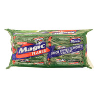 Jack N Jill Magic Flakes Onion Chives Flavored Crackers 28g x 10