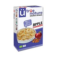 True Nature Organic Oatmeal Apple Cinnamon 400GR