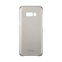 Samsung Galaxy S8+ Clear Gold Cover