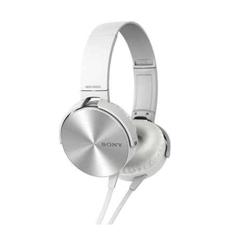 Sony-Headphone-MDRXB450AB-White