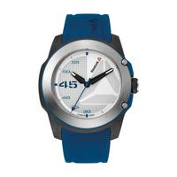 Reebok Men's Watch Haymaker Analog White Dial Blue Silicon Band 47mm  Case