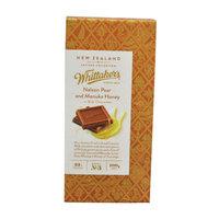 Whittaker'S Nelson Pear & Manuka Honey Block 100g