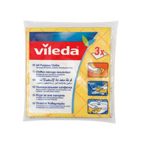 Vileda All Purpose Cloth 3 Pieces / Multi Purpose Cloth / Cleaning Cloth