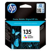 HP Cartridge 135 Tri-Color Inkjet (7Ml)
