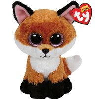 Ty Beanie Boos Slick Brown Fox Plush 6""