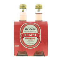 Bickford's Old Style Lemon Lime & Bitters Soda 4x275ml