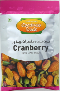Goodness Foods Nuts & Seeds Cranberry 20g