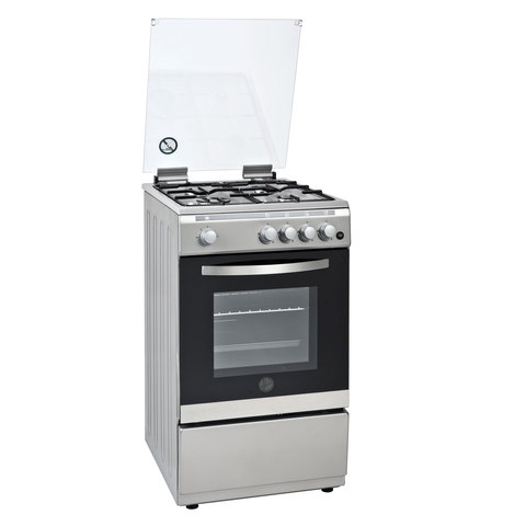 Hoover-50X60-Cm-Gas-Cooker-FGC-50.00S-4Burners