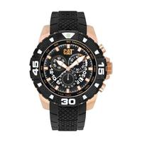 CAT Men's Watch Dp Sport Evo Analog Black Dial Black Fabric / Rubber Band 45.5mm  Case